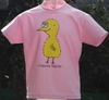 Kinder T-Shirt henny hatchy Light Pink