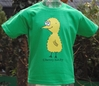 Kinder T-Shirt henny hatchy Kelly Green